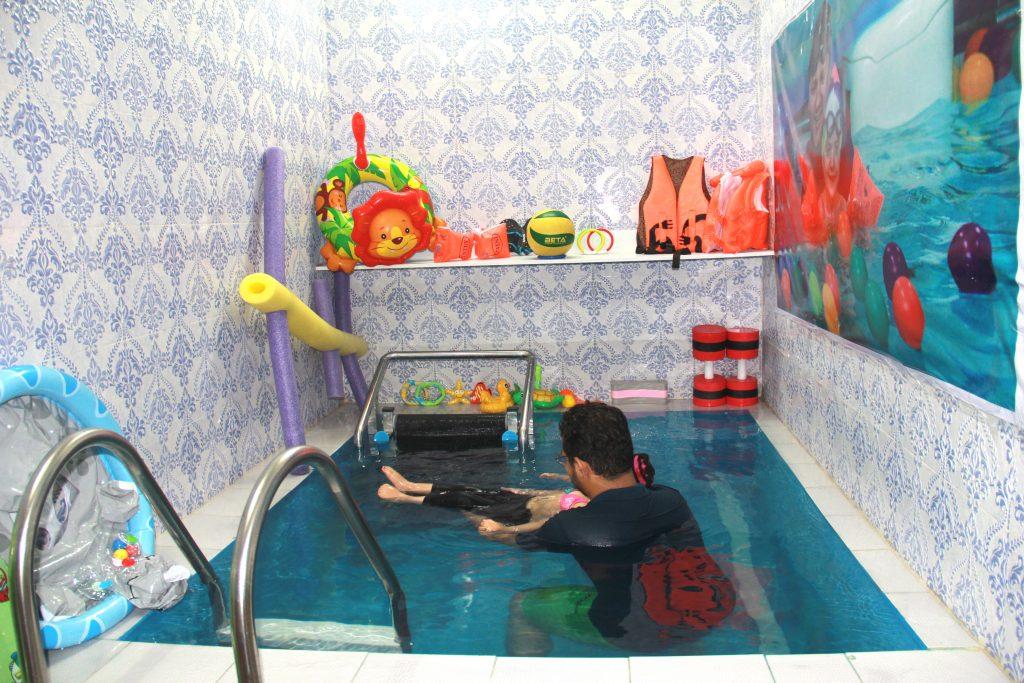 مرکز آب درمانی کودکان در بلوار ابوذر
