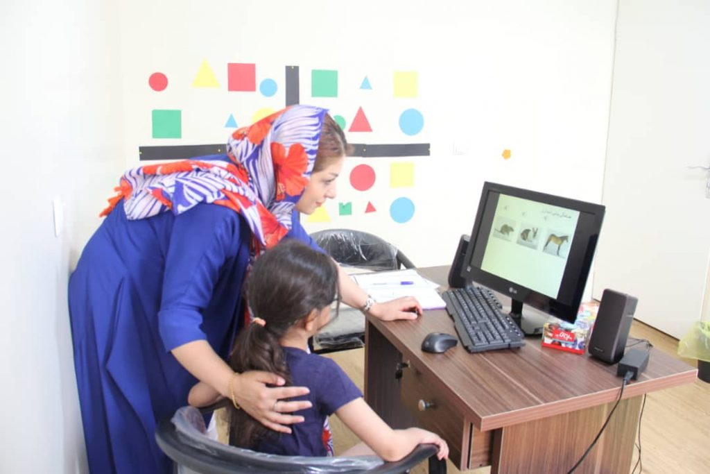 اتاق شنیداری گفتار درمانی کارگر