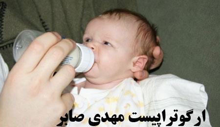 اختلال بلع در نوزادان